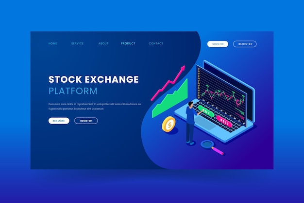 Modelo de aplicativo de bolsa de valores