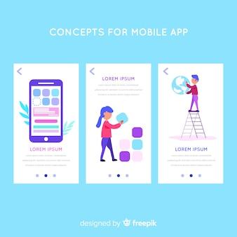 Modelo de aplicativo para dispositivos móveis