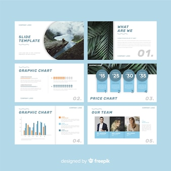 Modelo de apresentação de slides