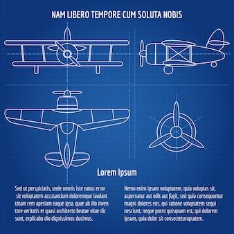 Modelo de avião