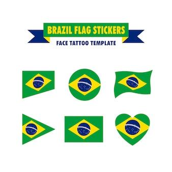 Modelo de bandeira do brasil