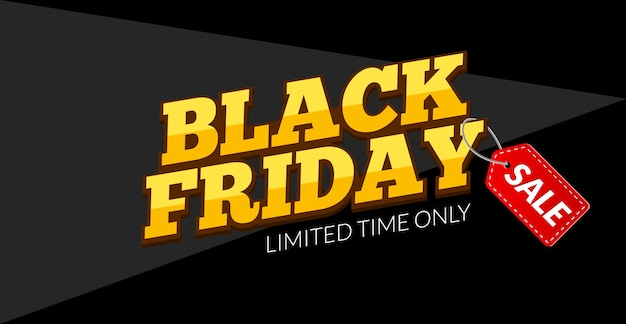Modelo de banner black friday sale