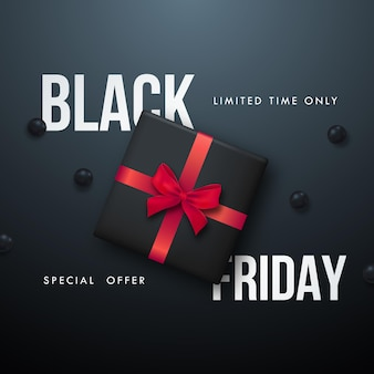 Modelo de banner black friday sale