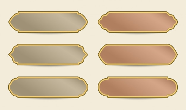 Modelo de banner colorido árabe