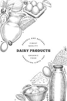 Modelo de banner de alimentos agrícolas