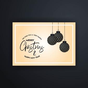 Modelo de banner de feliz natal 2019