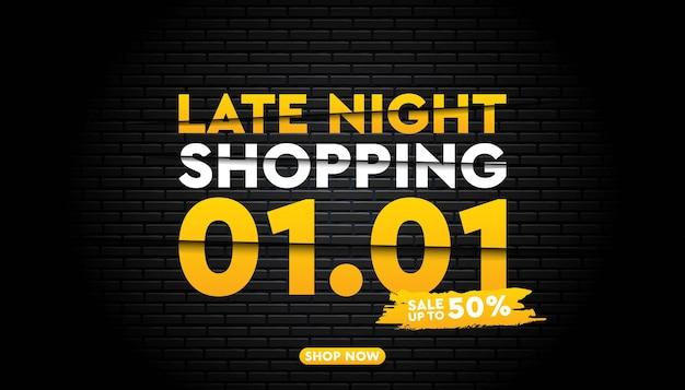 Modelo de banner de super venda em 1º de janeiro.