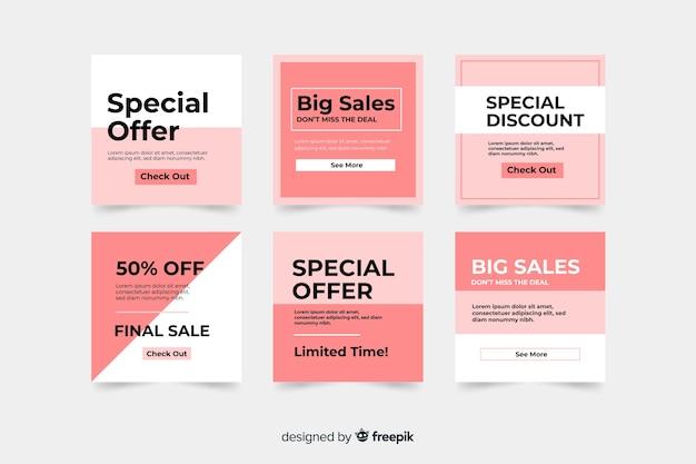 Modelo de banner de venda, oferta de desconto mega deal