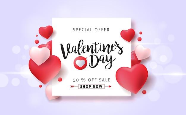 Modelo de banner de venda para dia dos namorados