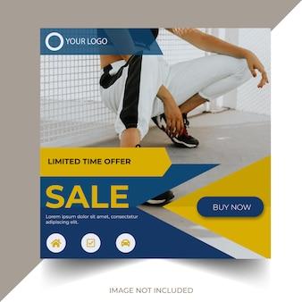 Modelo de banner de venda