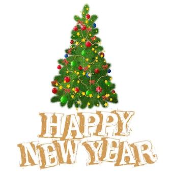 Modelo de banner e pôster de cartão de natal e ano novo