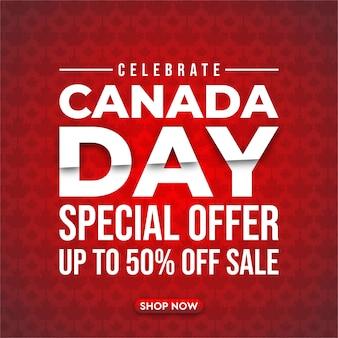 Modelo de banner moderno super venda canadá.