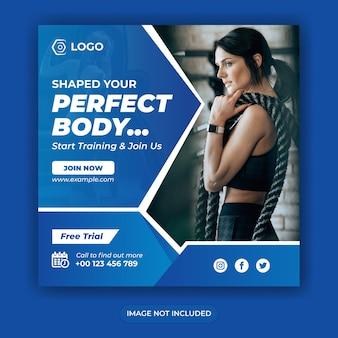 Modelo de banner promocional