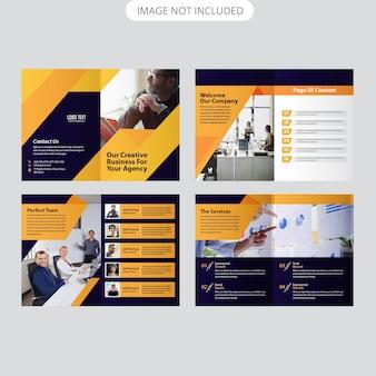 Modelo de brochura corporativa