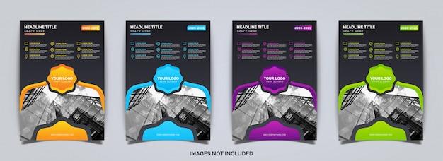 Modelo de brochura de negócios elegante