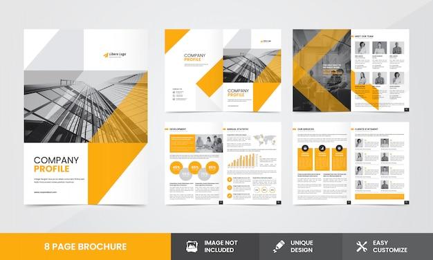 Modelo de brochura - empresa corporativa