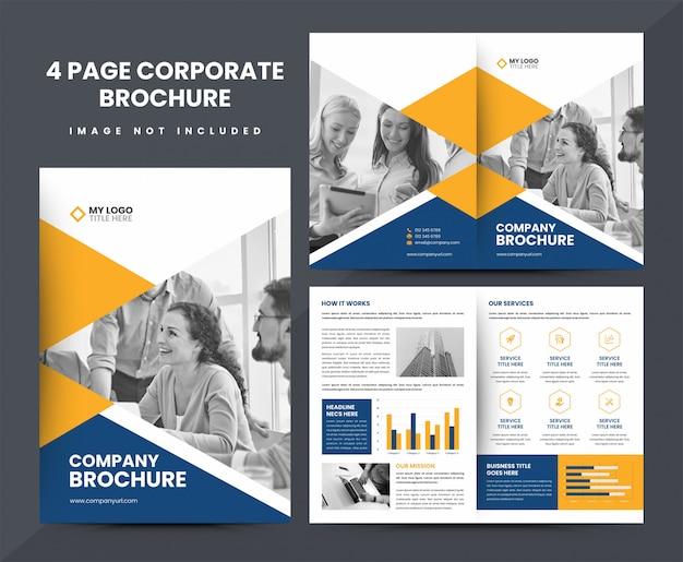 Modelo de brochura - empresa
