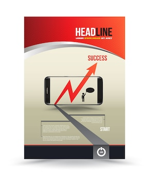 Modelo de brochura - negócio