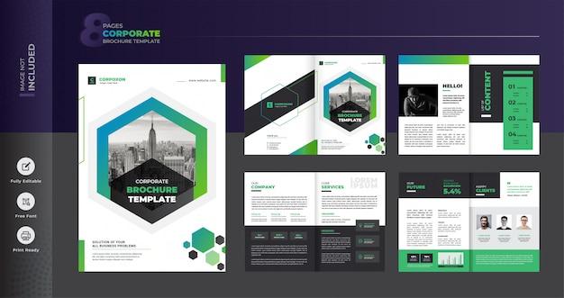 Modelo de brochura - negócios corporativos