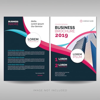 Modelo de brochura - negócios