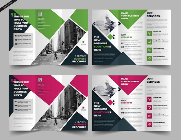 Modelo de brochura - tri-fold