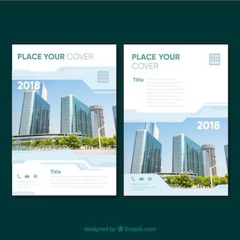 Modelo de brochuras corporativas