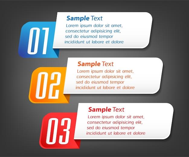 Modelo de caixa de texto