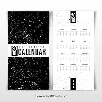 Modelo de calendário 2018