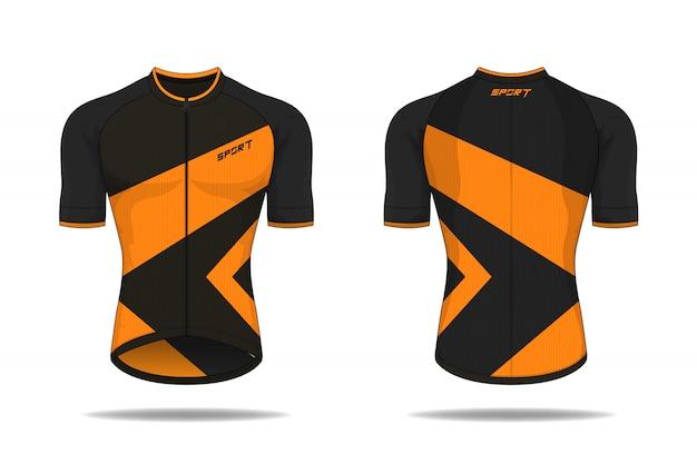 Modelo de camisa de ciclismo de especificação