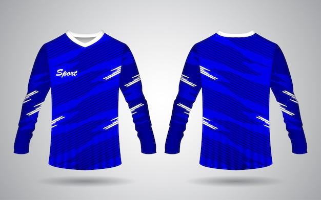 Modelo de camisa de manga longa de esporte de motocross e bicicleta