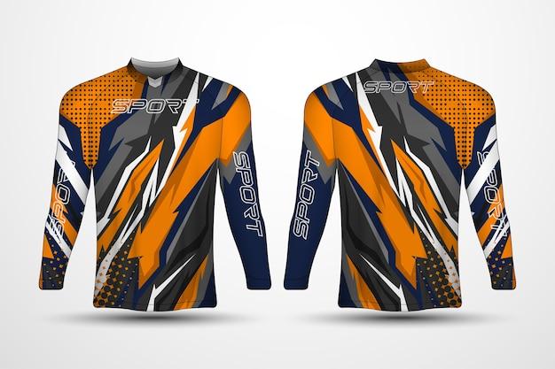 Modelo de camiseta, camisa esporte de corrida