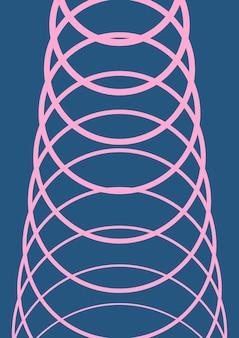 Modelo de capa de gradiente. layout minimalista moderno com meio-tom. modelo de capa gradiente futurista para banner, apresentação e brochura. formas coloridas minimalistas. ilustração abstrata de negócios