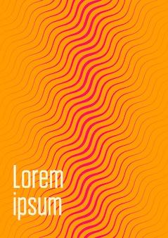 Modelo de capa legal. vetor moderno mínimo com gradientes de meio-tom