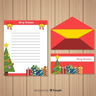 Modelo de carta de natal