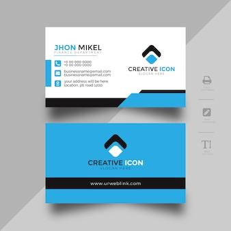 Modelo de cartão abstrato para empresa