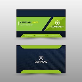 Modelo de cartão bussines
