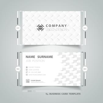 Modelo de cartão com design abstrato cinza