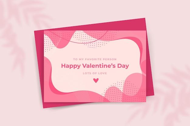Modelo de cartão de feliz dia dos namorados