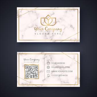 Modelo de cartão de visita clássico. estilo retro ouro. amor fofo