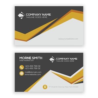 Modelo de cartão-de-visita - criativo