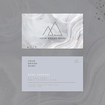 Modelo de cartão de visita de memphis