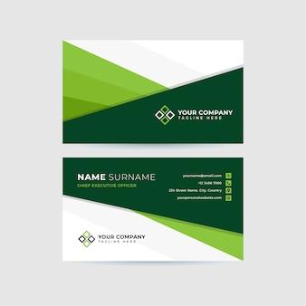 Modelo de cartão-de-visita - profissional limpo