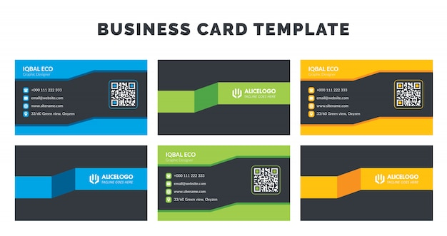 Modelo de cartão-de-visita