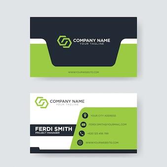 Modelo de cartão profissional