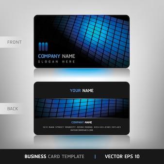 Modelo de cartão