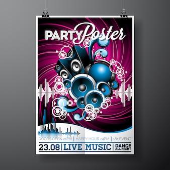 Modelo de cartaz do partido