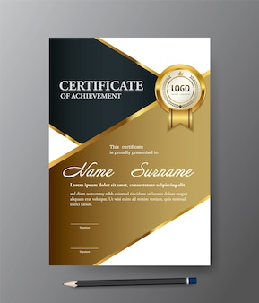 Modelo de certificado.
