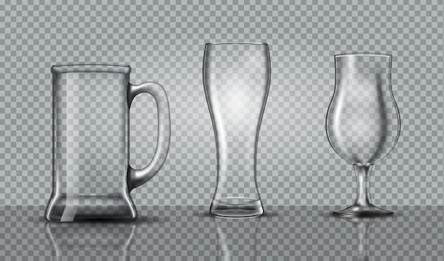 Modelo de copo de cerveja