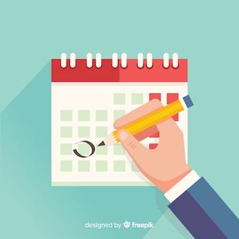 Modelo de cronograma de planejamento criativo