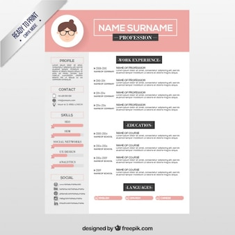 Editavel Formato Cv De Download Download Psd Gratuito